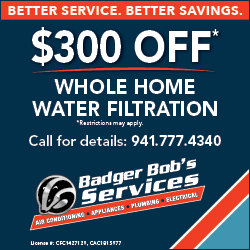Badger Bob's Water Filtration Special